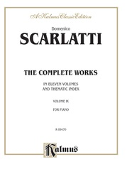 The Complete Works, Volume IX (In Eleven Volumes and Thematic Index)