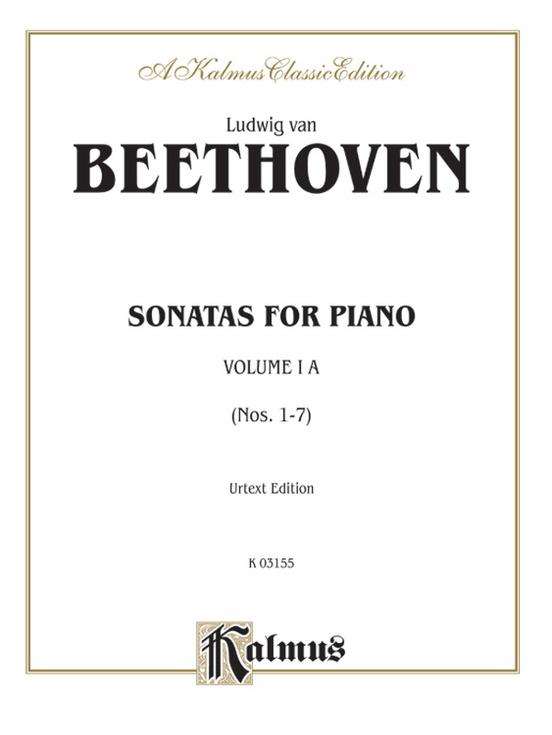 Sonatas, Volume IA, Nos. 1-7 (Urtext Edition)