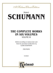 Complete Works, Volume III