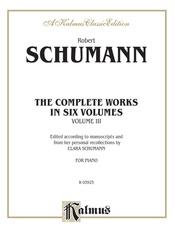 Complete Works, Volume III