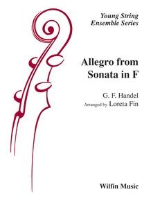 Allegro from Sonata in F