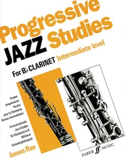 Progressive Jazz Studies for B-flat Clarinet, Book 2