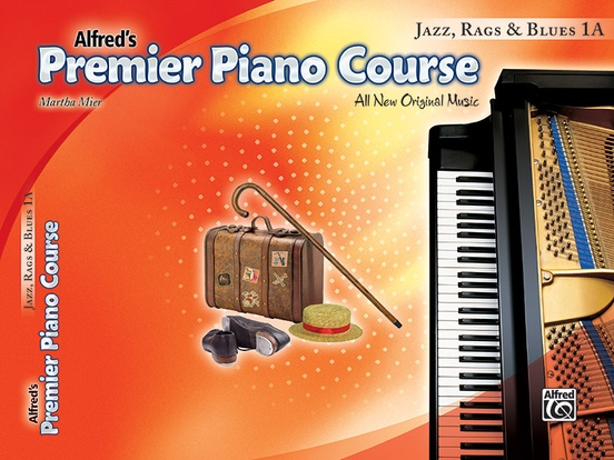 Premier Piano Course, Jazz, Rags & Blues 1A
