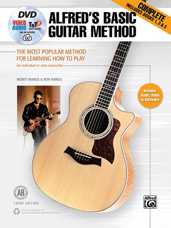 Alfreds Basic Guitar Method Complete Third Edition Guitar Book