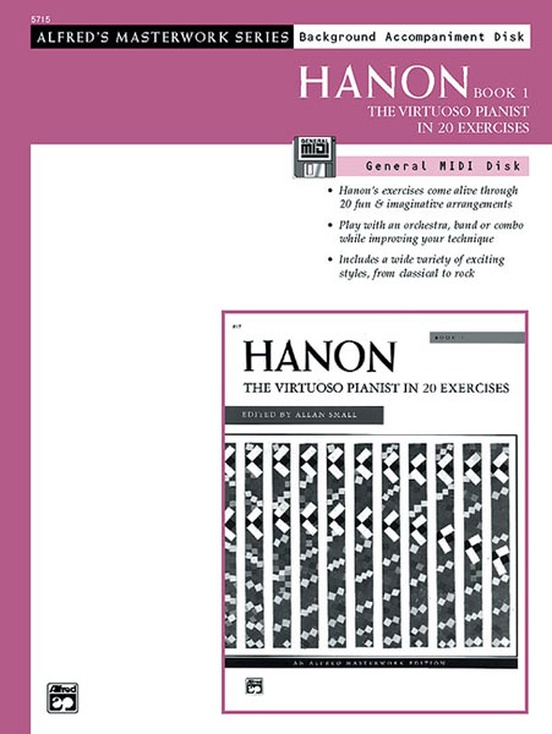 Hanon: The Virtuoso Pianist, Book 1