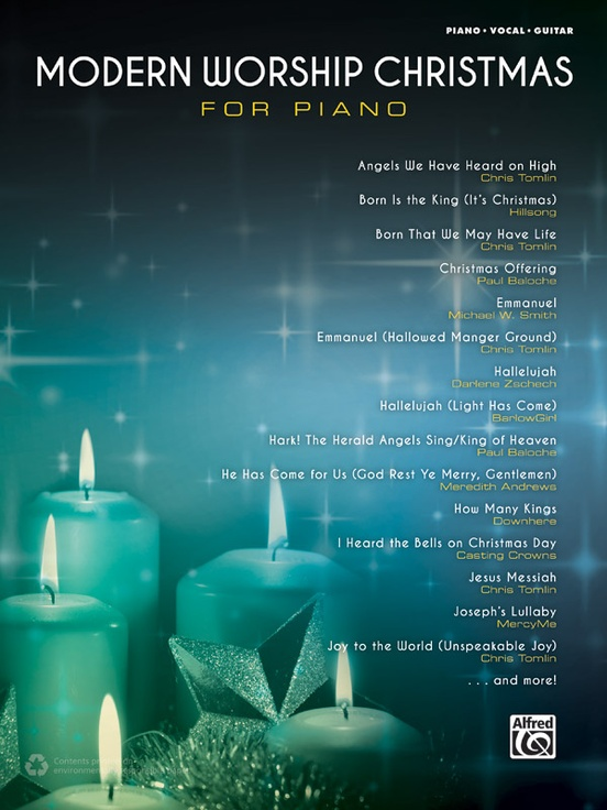 Modern Worship Christmas for Piano