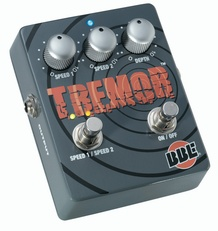 BBE Tremor Dual Mode Tremolo Guitar Effects Pedal