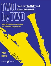 Two by Two Clarinet and Alto Saxophone Duets