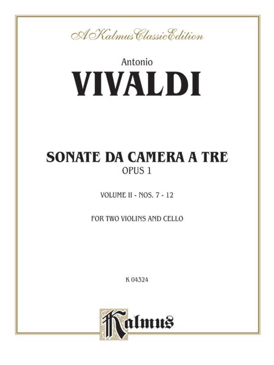Sonatas de Camera a Tre, Opus 1 (Volume II, Nos. 7-12)