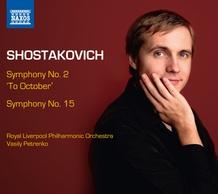 "Symphony No. 2 ""To October"" and Symphony No. 15"