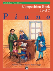 Alfred's Basic Piano Library: Composition Book 2