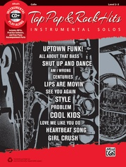 Top Pop & Rock Hits Instrumental Solos for Strings