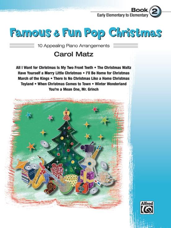 Famous & Fun Pop Christmas, Book 2