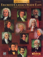 Favorite Classics Made Easy (Adult Piano Library)