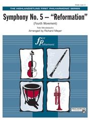 "Symphony No. 5 ""Reformation"" (4th Movement)"