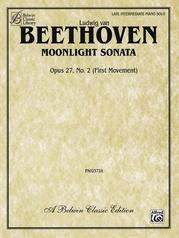 Moonlight Sonata, Opus 27, No. 2 (First Movement)