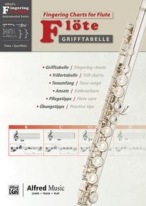 Grifftabelle für Flöte [Fingering Charts for Flute]