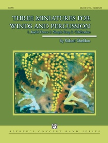 Three Miniatures for Winds and Percussion