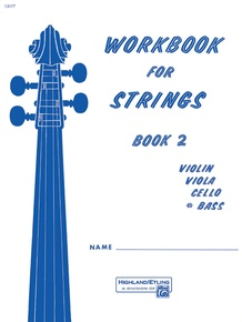 Workbook for Strings, Book 2