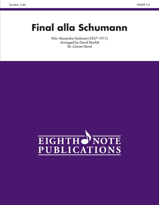 Final Alla Schumann, Opus 83