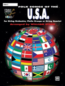 Strings Around the World: Folk Songs of the U.S.A.