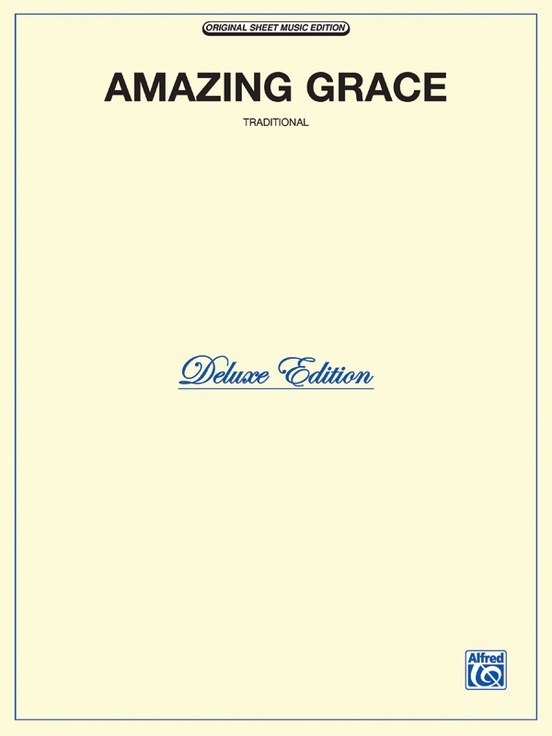 Amazing Grace: Piano/Vocal/Chords Sheet