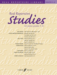 Real Repertoire Studies for Piano Grades 4-6