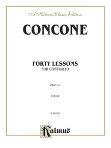Forty Lessons, Opus 17
