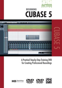 Alfred's Pro Audio Series: Beginning Cubase 5