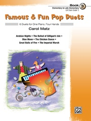 Famous & Fun Pop Duets, Book 3