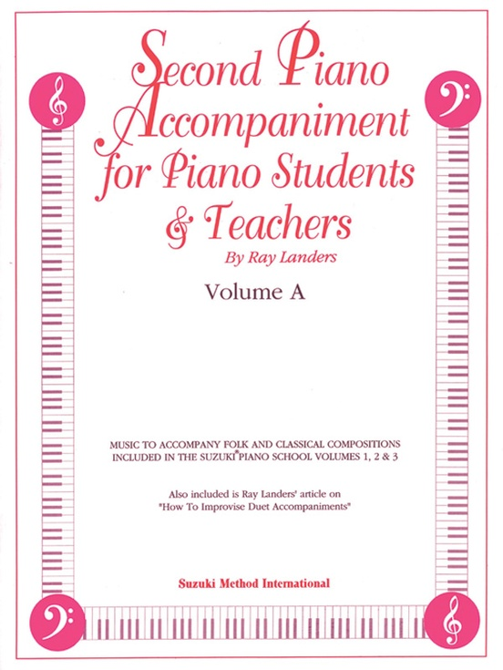 Second Piano Accompaniments, Volume A