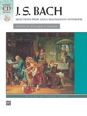 J. S. Bach, Anna Magdalena's Notebook, Selections from