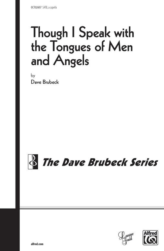 Though I Speak with the Tongues of Men and of Angels