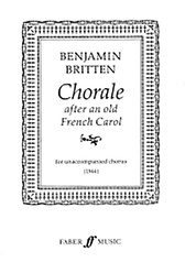 Chorale After an Old French Carol