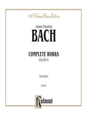 Complete Organ Works, Volume VI