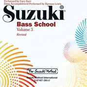 Suzuki Bass School, Volume 3