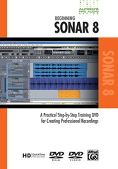 Alfred's Pro Audio Series: Beginning Sonar 8