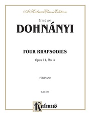 Rhapsody, Opus 11, No. 4