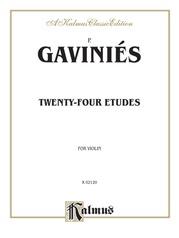 Twenty-four Etudes