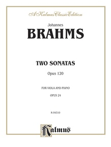 Two Sonatas, Opus 120