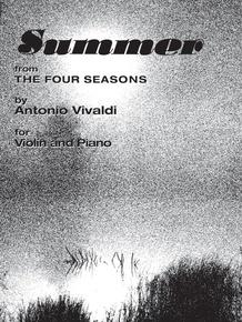 The Four Seasons: Summer