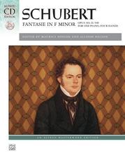 Schubert, Fantasie in F Minor, Opus 103, D. 940