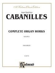 Complete Organ Works, Volume I