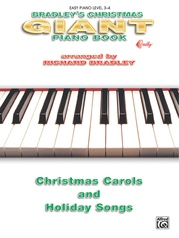 Bradley's Giant Christmas Piano Book