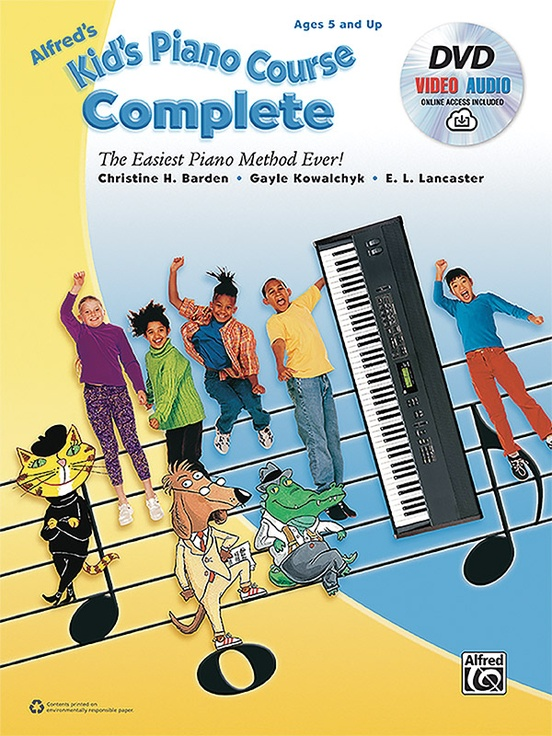 Alfred's Kid's Piano Course, Complete
