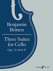 Three Suites for Cello, Opus 72, 80 & 87