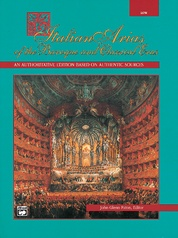 26 Italian Songs and Arias: Medium High Voice Book
