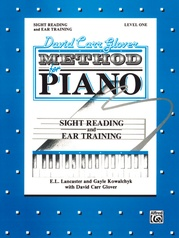 David Carr Glover Method for Piano: Sight Reading and Ear Training, Level 1
