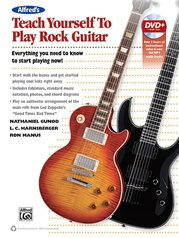 Alfred's Teach Yourself to Play Rock Guitar