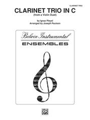 Clarinet Trio in C